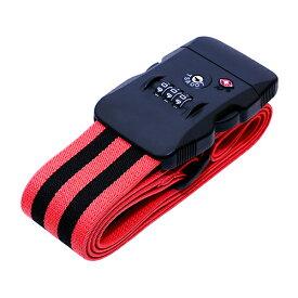 ミヨシ ジャストフィットスーツケースベルト ブラックレッド ASNMBZ-SBL02/BR|雑貨・ホビー・インテリア 雑貨 雑貨品