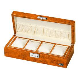 ローテンシュラガー 木製時計4本収納ケース ASNLU51005RW|雑貨・ホビー・インテリア 雑貨 雑貨品【代引き決済不可】【日時指定不可】