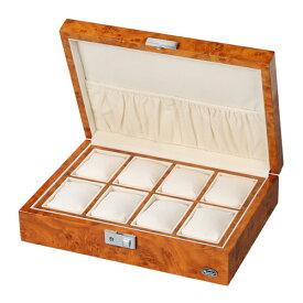 ローテンシュラガー 木製時計8本収納ケース ASNLU51010RW|雑貨・ホビー・インテリア 雑貨 雑貨品【代引き決済不可】【日時指定不可】