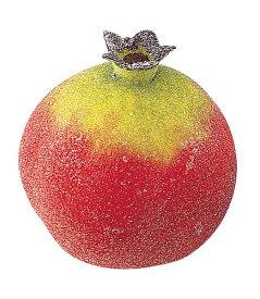 65mmフロストポメグラネイト クリスマス装飾フルーツ・食品サンプル フルーツ 果物 [DIFV7691]【フェイク フルーツ 商品 サンプル 作り物 レプリカ モチーフ】