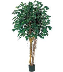 人工観葉植物 大型 光触媒スプレープレゼント 150cm フィカスツリー(ナチュラルトランク) [LETR7475]フェイク グリーン 造花 インテリア おしゃれ 代引決済不可