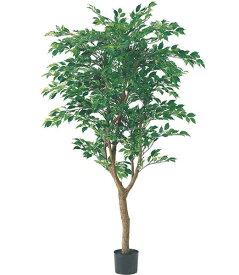人工観葉植物 大型 光触媒スプレープレゼント 150cm フィカスツリー(ナチュラルトランク/2255) [LETR7591]フェイク グリーン 造花 インテリア おしゃれ 代引決済不可