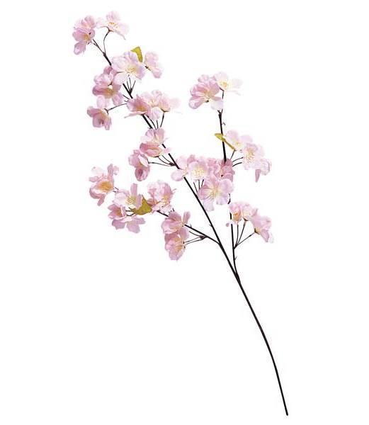★造花 フラワー 観葉植物  65cm 桜小枝(42) [FLSP1429]【さくら フェイク グリーン 資材 装飾 花材】