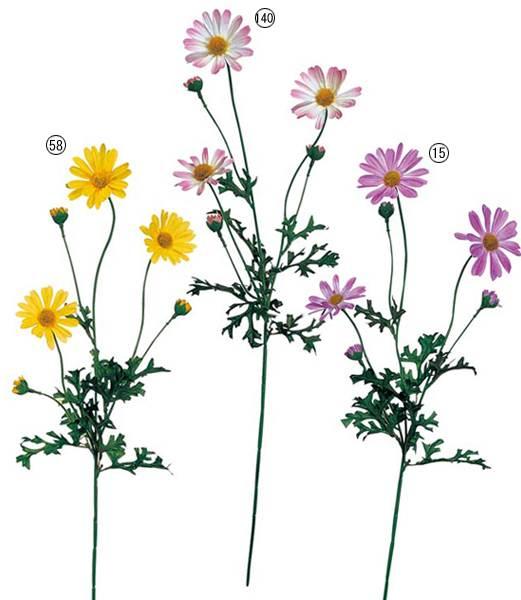 ★造花 フラワー 観葉植物 花束 マーガレット  [FLSP1349]【フェイク グリーン 資材  フラワー アレンジメント】