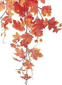 造花・観葉植物フロストメープルブッシュ(155)