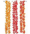 ★ハロウィン★造花フラワー観葉植物モミジガーランド(132)[LEGA5111]【フェイクグリーン資材装飾飾付人工観葉植物】