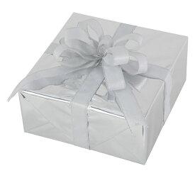 ギフトボックス(Lサイズ)シルバー[MRS12-10902]|クリスマス クリスマスツリー デコレーション 店舗装飾 飾り 飾りつけ 飾り付け 装飾 ギフトボック プレゼント シルバー