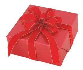ギフトボックス(Lサイズ)レッド[MRS12-10903]|クリスマス クリスマスツリー デコレーション 店舗装飾 飾り 飾りつけ 飾り付け 装飾 ギフトボック プレゼント レッド