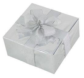 ギフトボックス(Mサイズ)シルバー[MRS12-10906]|クリスマス クリスマスツリー デコレーション 店舗装飾 飾り 飾りつけ 飾り付け 装飾 ギフトボック プレゼント シルバー