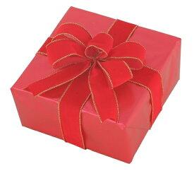 ギフトボックス(Mサイズ)レッド[MRS12-10907]|クリスマス クリスマスツリー デコレーション 店舗装飾 飾り 飾りつけ 飾り付け 装飾 ギフトボック プレゼント レッド