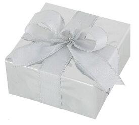 ギフトボックス(Sサイズ)シルバー[MRS12-10910]|クリスマス クリスマスツリー デコレーション 店舗装飾 飾り 飾りつけ 飾り付け 装飾 ギフトボック プレゼント シルバー