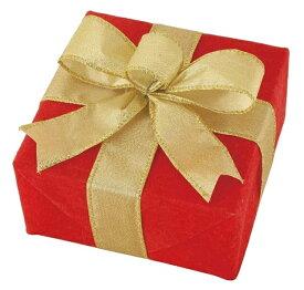 ギフトボックス(Sサイズ)マットレッド[MRS13-11715]|クリスマス クリスマスツリー デコレーション 店舗装飾 飾り 飾りつけ 飾り付け 装飾 ギフトボック プレゼント レッド