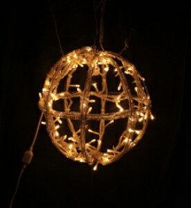 LEDボールライト(S)WW[MRS15-01503]|クリスマス クリスマスツリー デコレーション 店舗装飾 飾り 飾りつけ 飾り付け ライト 電飾 イルミネーション LED ボール S ホワイト
