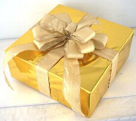 ギフトボックス(LLサイズ)ゴールド[MRS15-12701]|クリスマス クリスマスツリー デコレーション 店舗装飾 飾り 飾りつけ 飾り付け 装飾 ギフトボック プレゼント ゴールド