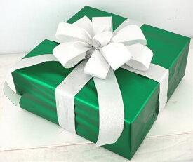 ギフトボックス(LLサイズ)グリーン[MRS15-12704]|クリスマス クリスマスツリー デコレーション 店舗装飾 飾り 飾りつけ 飾り付け 装飾 ギフトボック プレゼント グリーン