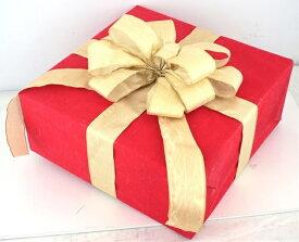 ギフトボックス(LLサイズ)マットレッド[MRS15-12705]|クリスマス クリスマスツリー デコレーション 店舗装飾 飾り 飾りつけ 飾り付け 装飾 ギフトボック プレゼント レッド