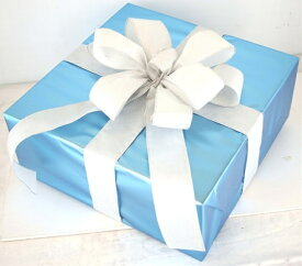 ギフトボックス(LLサイズ)ブルー[MRS15-12706]|クリスマス クリスマスツリー デコレーション 店舗装飾 飾り 飾りつけ 飾り付け 装飾 ギフトボック プレゼント ブルー