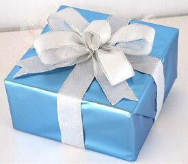 ギフトボックス(Mサイズ)ブルー[MRS15-12722]|クリスマス クリスマスツリー デコレーション 店舗装飾 飾り 飾りつけ 飾り付け 装飾 ギフトボック プレゼント ブルー