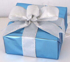 ギフトボックス(Sサイズ)ブルー[MRS15-12806]|クリスマス クリスマスツリー デコレーション 店舗装飾 飾り 飾りつけ 飾り付け 装飾 ギフトボック プレゼント ブルー
