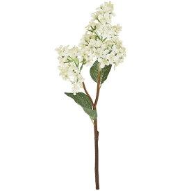 フレリアライラック #1  WHITE 造花 フラワー ライラック ストック [T-FM003797-001] 代引決済不可