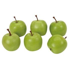 メイデンアップル #23 GREEN 造花 実もの 果物 野菜 パン アップル [T-FV004270-023] 代引決済不可