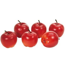 ブライトアップル M #3   RED 造花 実もの 果物 野菜 パン アップル [T-FV009773-003] 代引決済不可