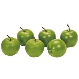 ブライトアップル M #23  GREEN 造花 実もの 果物 野菜 パン アップル [T-FV009773-023] 代引決済不可