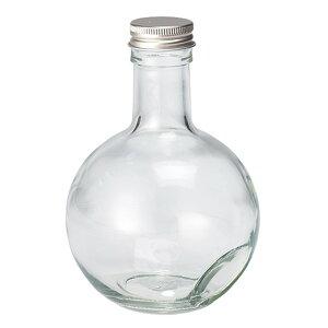細口ガラス瓶 キュート300 ネジ栓付き 4本入り 花器 ベース 花器(ガラス) ガラス [T-GG021304] 代引決済不可