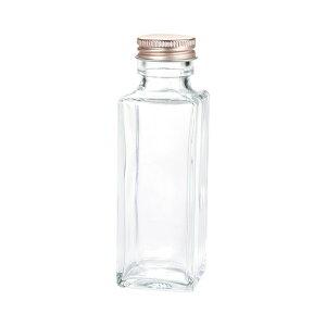細口ガラス瓶 ミニ角柱型 ネジ栓付き 8本入り 花器 ベース 花器(ガラス) ガラス [TDLGG030508] 代引決済不可|装飾 飾利付け 店舗装飾 インテリア ディスプレイ 花瓶 フラワーポット Φ40.0×H