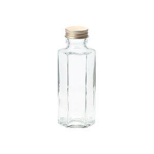 細口ガラス瓶 ミニ六角型 ネジ栓付き 8本入り 花器 ベース 花器(ガラス) ガラス [TDLGG030608] 代引決済不可|装飾 飾利付け 店舗装飾 インテリア ディスプレイ 花瓶 フラワーポット W48.8×H1