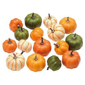 シックパンプキンアソート 造花 実もの 果物 野菜 パン かぼちゃ パンプキン [T-HW001801] 代引決済不可