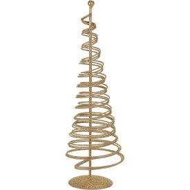 フェールツリー #18 ゴールド 花器 ベース ワイヤー素材 ワイヤーベース [TDLXU005140-018] 代引決済不可|装飾 飾り付け 店舗装飾 インテリア ディスプレイ フラワースタンド アイアンスタンド W14×H37cm クリスマス ツリー