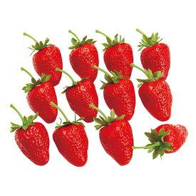 イチゴ RED アーティフィシャルフラワー 造花 実もの 果物 ストロベリー [TDLFV004003]