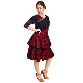 <レンタル>社交ダンス 衣装 ドレス フォーメーション r18