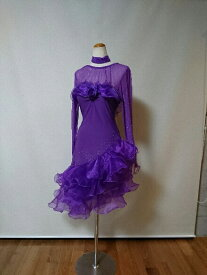 <レンタル>社交ダンス 衣装 ドレス フォーメーション r30