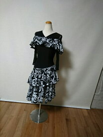 <レンタル>社交ダンス 衣装 ドレス フォーメーション r28