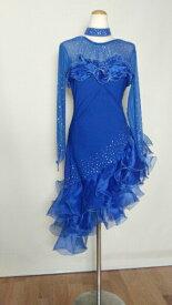 <レンタル>社交ダンス 衣装 ドレス フォーメーション r3