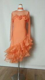 <レンタル>社交ダンス 衣装 ドレス フォーメーション r12