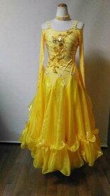 <レンタル>社交ダンス 衣装 ドレス フォーメーション m13