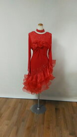 <レンタル>社交ダンス 衣装 ドレス フォーメーション r21