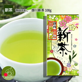 【新茶2020】 【メール便送料無料】 静岡県産 掛川茶 100g 複数購入で 詰め合わせ ギフトもOK 若い茶の香りと味わい そして人気の深蒸し茶 おいしい茶の贈り物 ギフトに日本茶をプレゼント