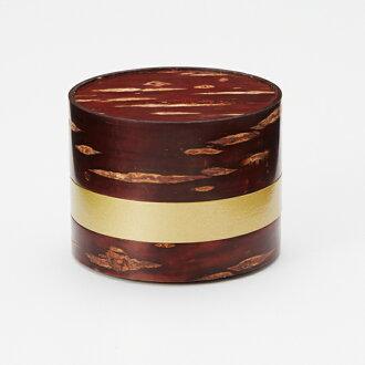 球童化妝盒裝櫻桃樹皮加工天然木材使用聯接日本生產