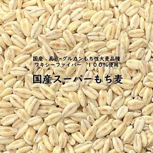 国産スーパーもち麦 900g ワキシーファイバー 100% 愛知県産 高β-グルカンもち性大麦品種 【 ネコポス送料無料 】 β-グルカン値 13.5g/100g中