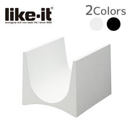 ライクイット like-it スタッキングワインラック2P 【ブラック】 STK-12L