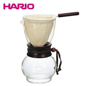 ハリオ (HARIO) ドリップポット・ウッドネック DPW-3 480ml (3〜4杯用)(ネルドリップ) JAN: 4977642331730
