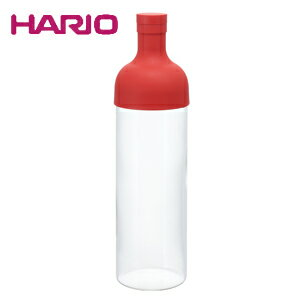 ハリオ HARIO フィルターインボトル レッド FIB-75-R JAN: 4977642034419
