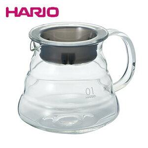 【エントリーで全品ポイント10倍! 6/14 20時〜】ハリオ HARIO V60レンジサーバー 360 クリア XGS-36TB 360ml(1〜3杯用)(コーヒーサーバー) JAN: 4977642020108