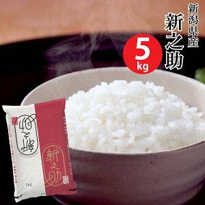 【米 5キロ 送料無料】新潟県産新之助 5kg【おこめ コメ 白米】