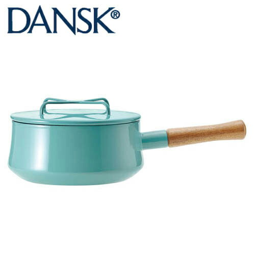 DANSK ダンスク コベンスタイル ホーロー鍋 片手鍋18cm 2QT ティール 833298 JAN: 4905689599158【送料無料】[T]