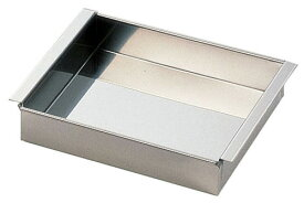 SA18−8玉子豆腐器 関西型 27cm ATM08027 7-0387-0210 4905001238208 遠藤商事